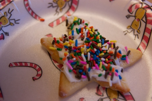 Christmas cookies at preschool